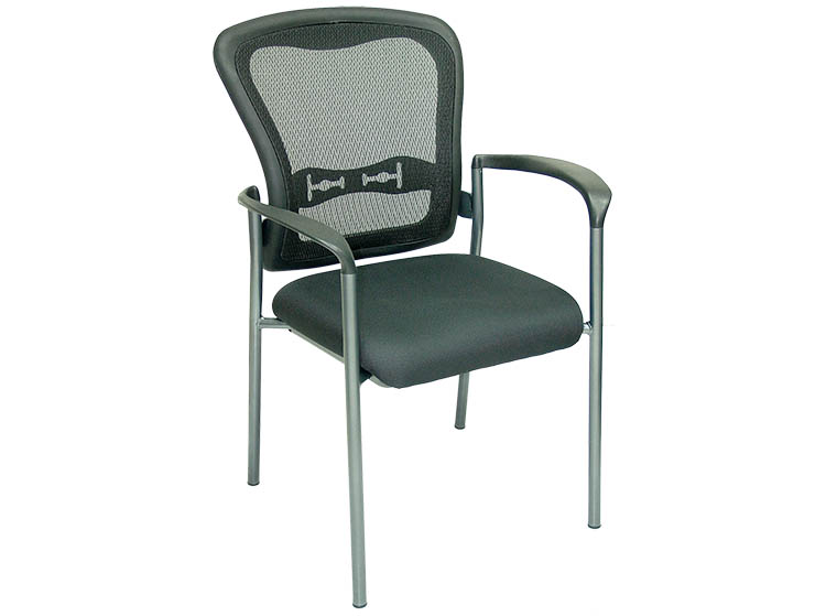 4 Legs Mesh Back Stackable Guest Chair Techno Office