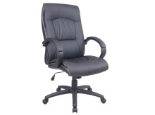 BELLA High Back Leatherette Chair