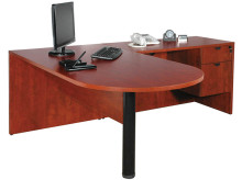 Peninsula Desk with Return