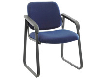 Vita Sled Base Guest Chair with protective shell