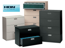 HON 600 Series Lateral Files