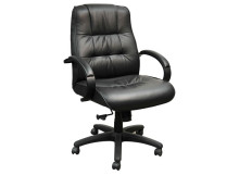#7081&Mid-Back-Leather-Chair&$278-S