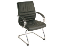 A6123NCH&Mid-Back-Leather-Guest-Chair-with-Cantilever-Base&$238-c