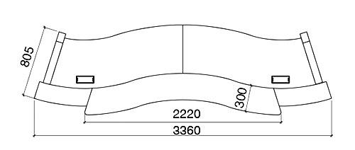 """Drawing Line Qt : """"martinique reception desk techno office furniture"""